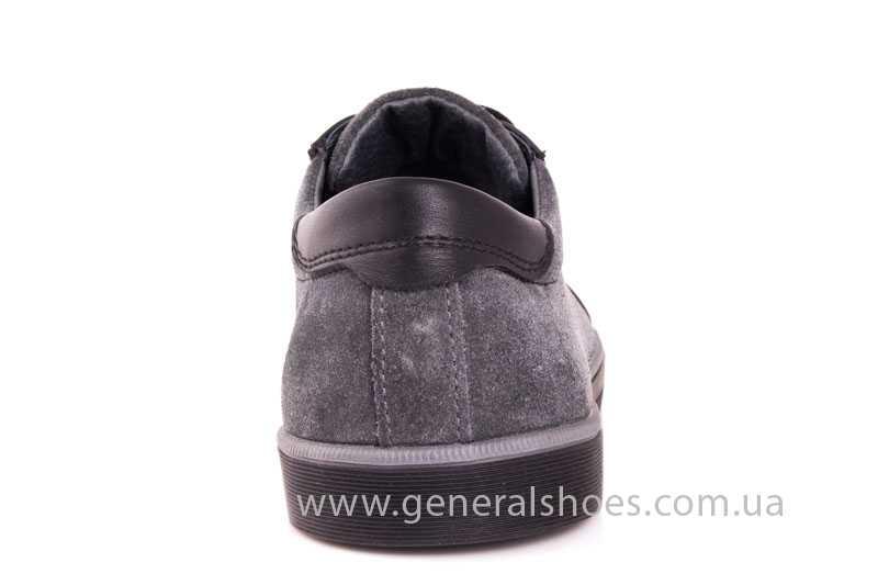 Мужские кожаные туфли GS 84 blk GRZ фото 4