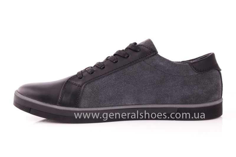 Мужские кожаные туфли GS 84 blk GRZ фото 5