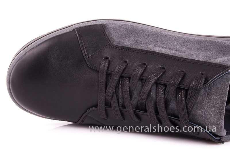Мужские кожаные туфли GS 84 blk GRZ фото 7