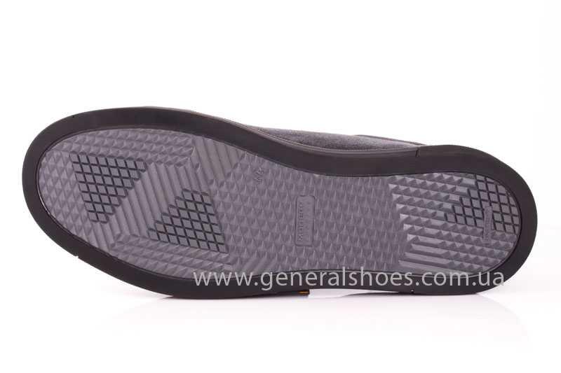 Мужские кожаные туфли GS 84 blk GRZ фото 8