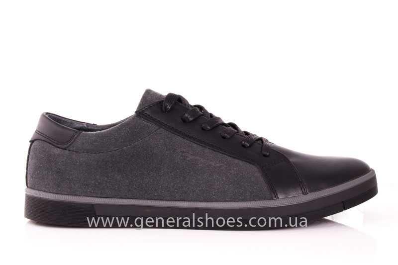 Мужские кожаные туфли GS 84 blk GRZ фото 2