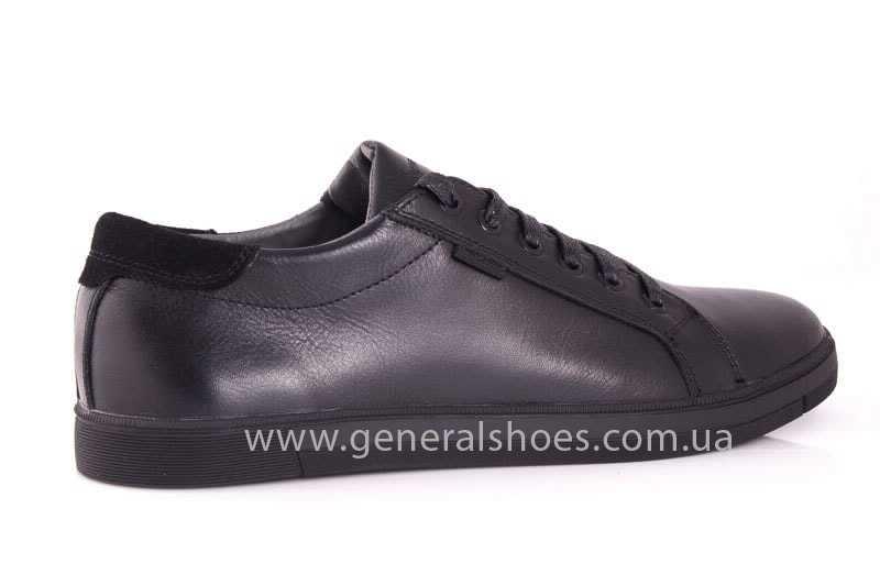 Мужские кожаные туфли GS 84 Timer blk. фото 3