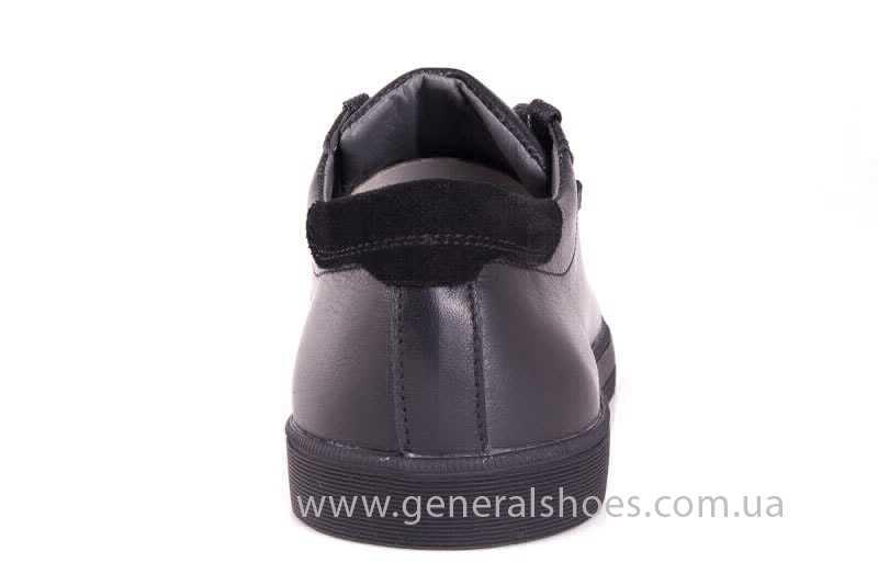 Мужские кожаные туфли GS 84 Timer blk. фото 4