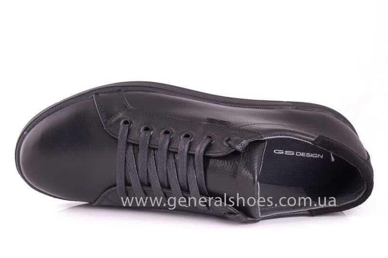 Мужские кожаные туфли GS 84 Timer blk. фото 8