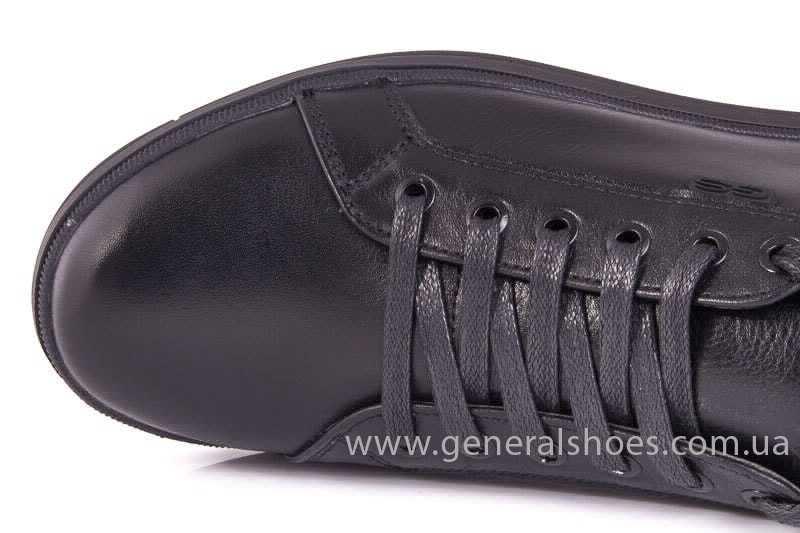 Мужские кожаные туфли GS 84 Timer blk. фото 9