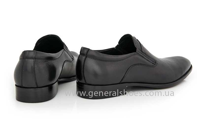 Мужские кожаные туфли Roberto Paulo 10645 blk фото 3