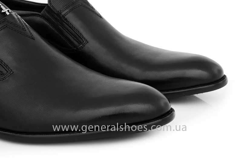 Мужские кожаные туфли Roberto Paulo 10645 blk фото 7