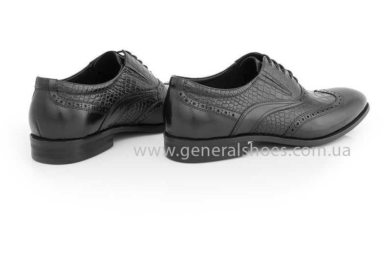 Мужские кожаные туфли Roberto Paulo 10814 blk фото 9
