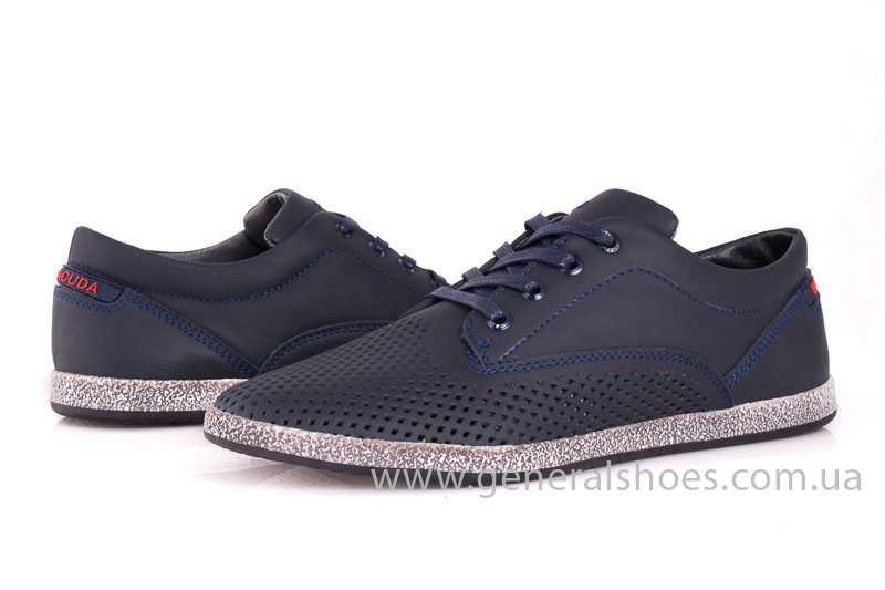 Мужские кожаные туфли GS B 44 P Shanghai blue фото 6