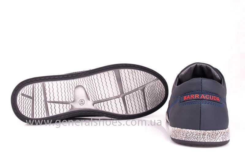 Мужские кожаные туфли GS B 44 P Shanghai blue фото 10