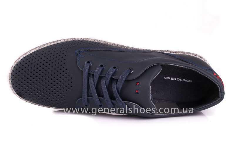 Мужские кожаные туфли GS B 44 P Shanghai blue фото 8