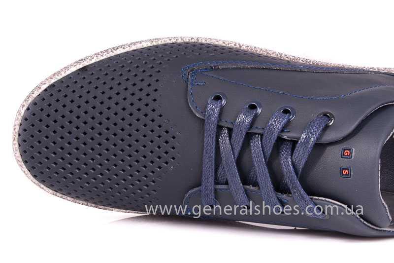 Мужские кожаные туфли GS B 44 P Shanghai blue фото 9