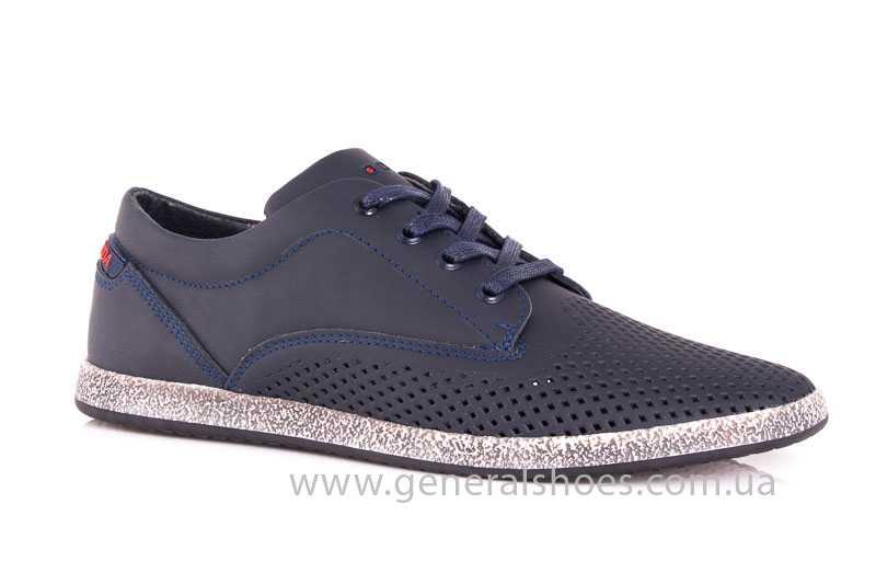 Мужские кожаные туфли GS B 44 P Shanghai blue фото 1