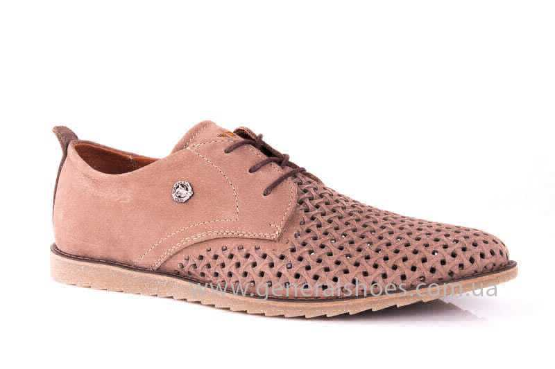 Мужские туфли из нубука GS E1 P Vebster фото 1