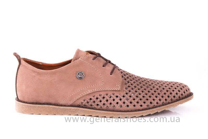Мужские туфли из нубука GS E1 P Vebster фото 2