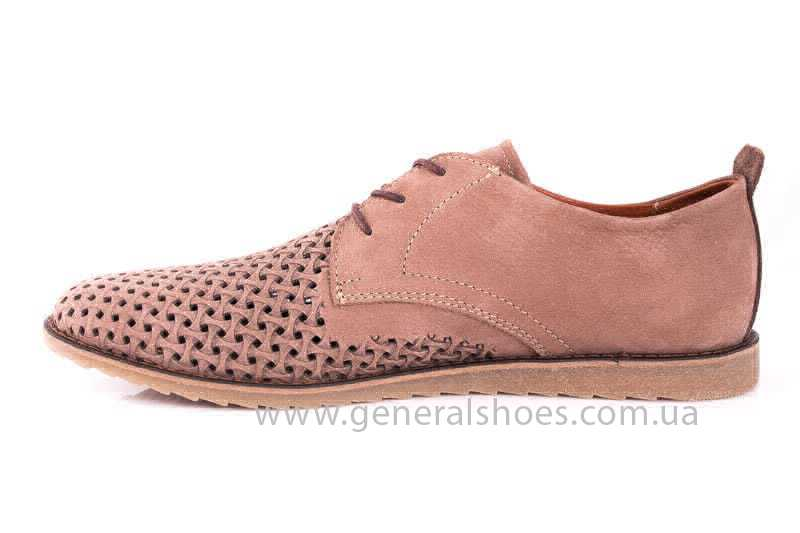 Мужские туфли из нубука GS E1 P Vebster фото 5