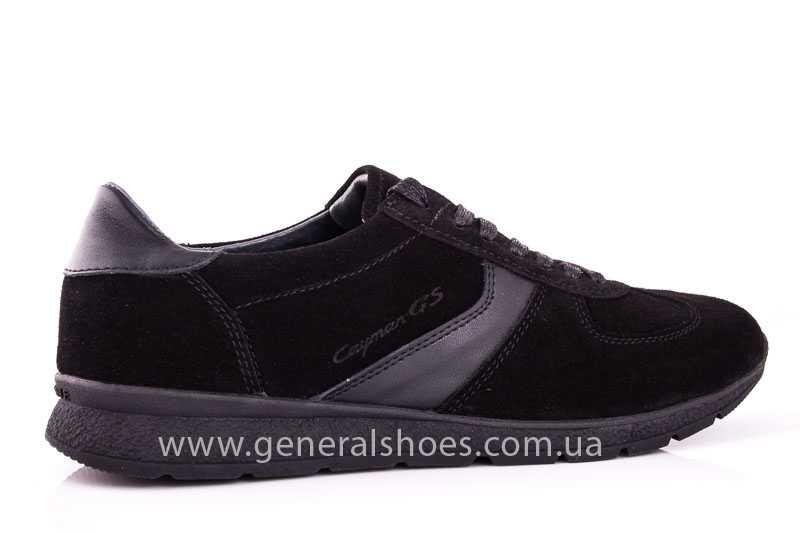 Мужские замшевые кроссовки GS D1 blk Z фото 3