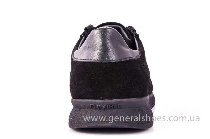 Мужские замшевые кроссовки GS D1 blk Z фото 4