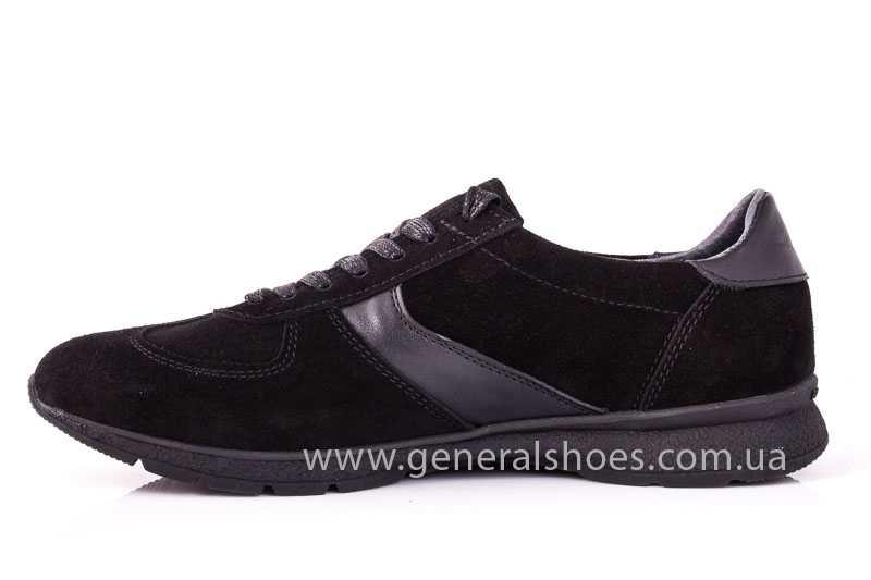 Мужские замшевые кроссовки GS D1 blk Z фото 5