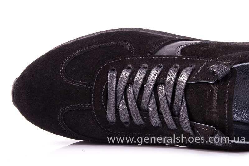 Мужские замшевые кроссовки GS D1 blk Z фото 7