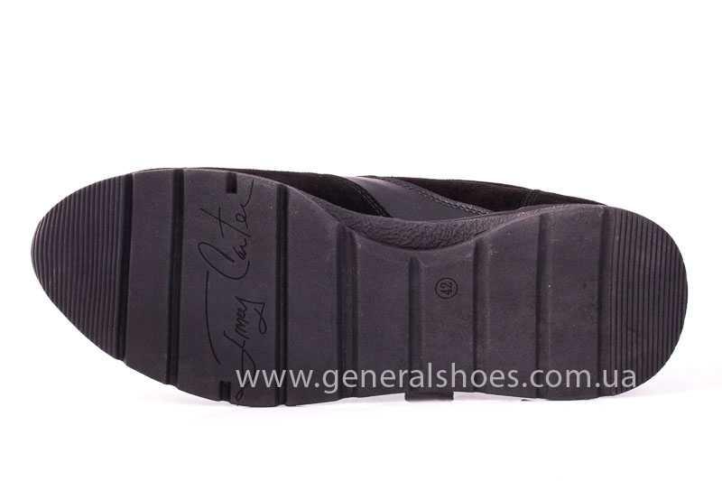 Мужские замшевые кроссовки GS D1 blk Z фото 8