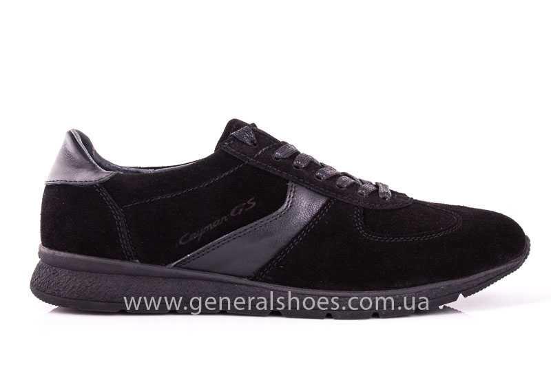 Мужские замшевые кроссовки GS D1 blk Z фото 2