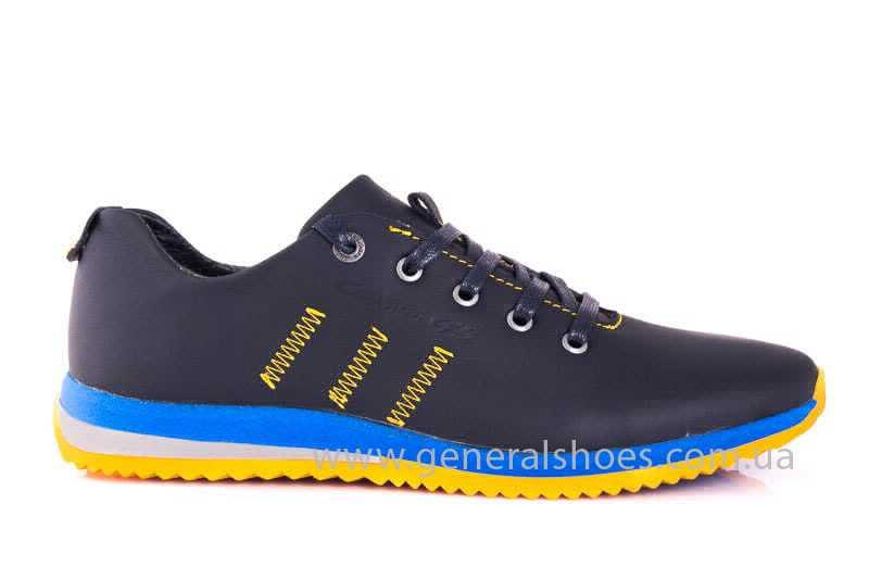 Подростковые кожаные кроссовки GS JUNIOR 10 ZIDAN bl. фото 2
