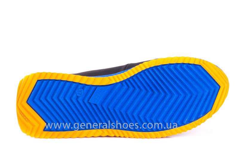 Подростковые кожаные кроссовки GS JUNIOR 10 ZIDAN bl. фото 10