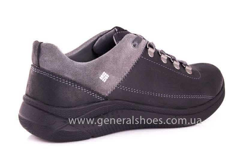 Подростковые кожаные кроссовки GS JUNIOR 13 blk. фото 3