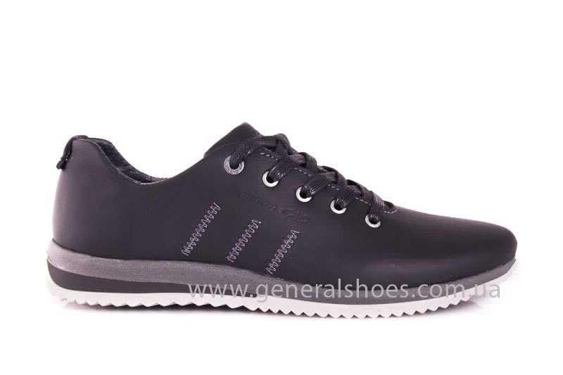 Подростковые кожаные кроссовки GS Junior 10 Zidan gr. фото 2