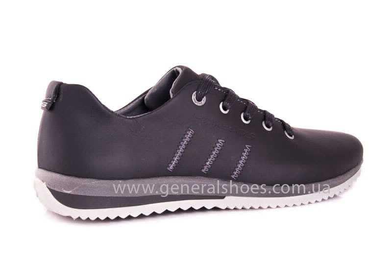 Подростковые кожаные кроссовки GS Junior 10 Zidan gr. фото 3