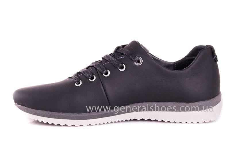 Подростковые кожаные кроссовки GS Junior 10 Zidan gr. фото 5