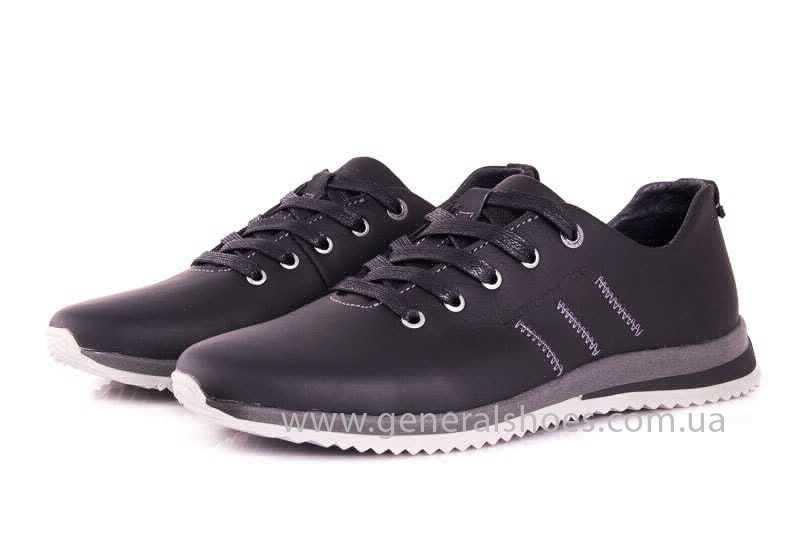 Подростковые кожаные кроссовки GS Junior 10 Zidan gr. фото 6