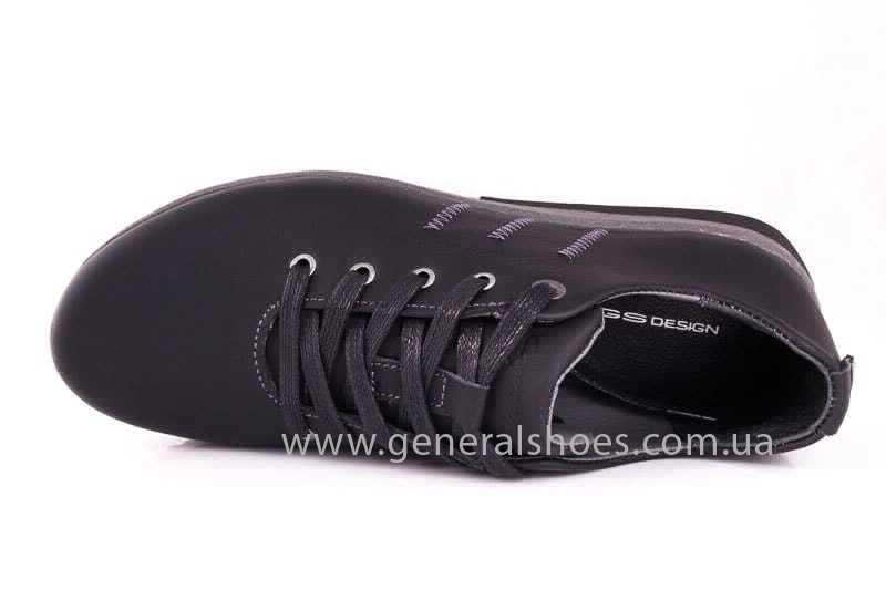 Подростковые кожаные кроссовки GS Junior 10 Zidan gr. фото 9