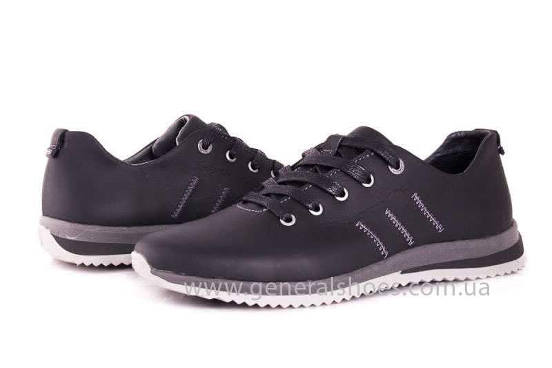 Подростковые кожаные кроссовки GS Junior 10 Zidan gr. фото8