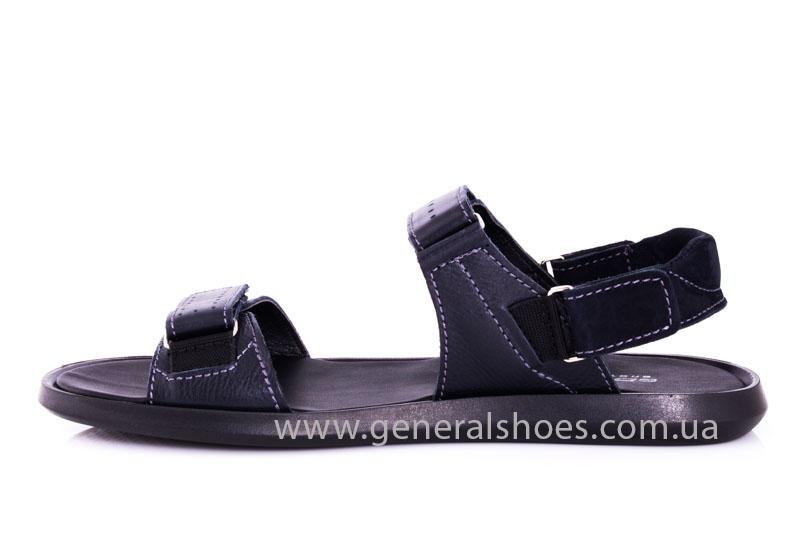 Мужские кожаные сандалии Ed-Ge S-5 blue фото 6