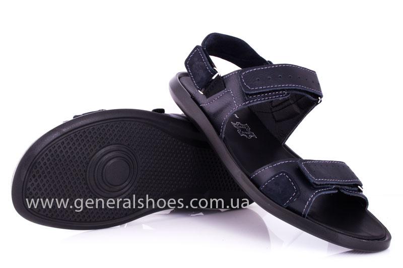 Мужские кожаные сандалии Ed-Ge S-5 blue фото 10