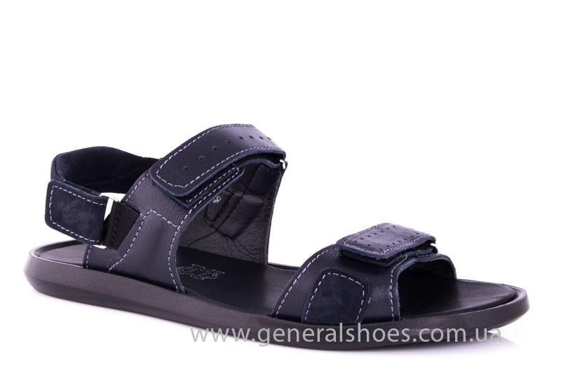 Мужские кожаные сандалии Ed-Ge S-5 blue фото 1