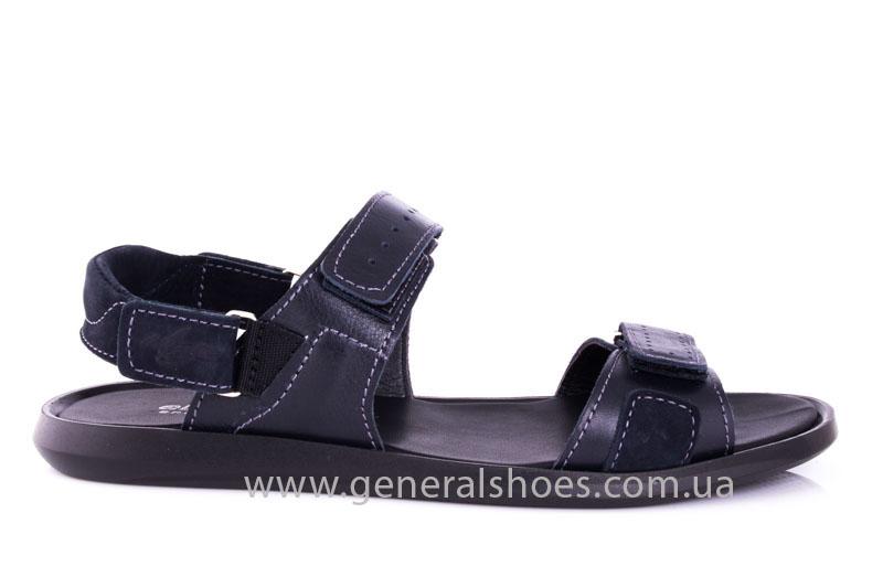 Мужские кожаные сандалии Ed-Ge S-5 blue фото 2