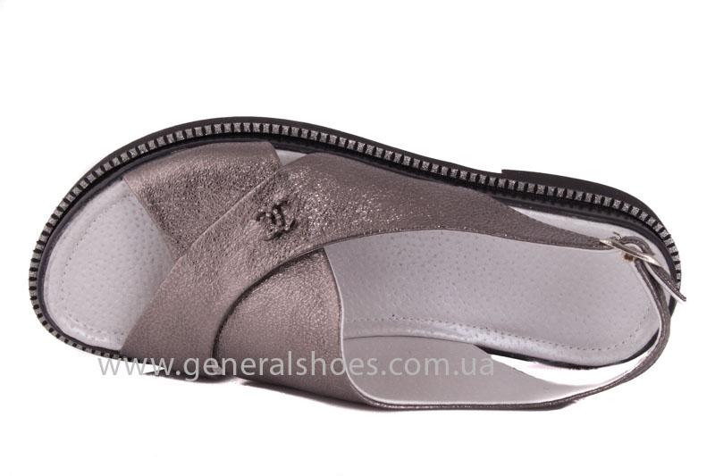 Женские кожаные босоножки CM 124 фото 6