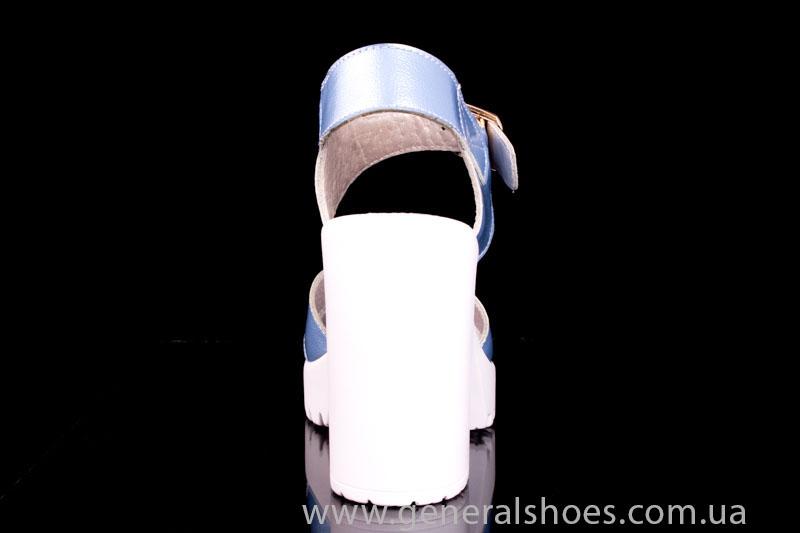 Женские кожаные босоножки КМ 1804 фото 4
