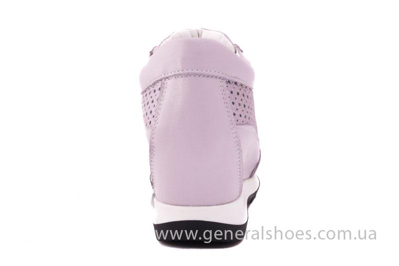 Женские кожаные сникерсы PF 221 фото 4