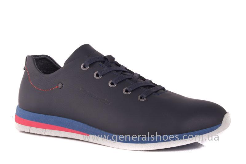 Мужские кожаные кроссовки 1011 Energy фото 1