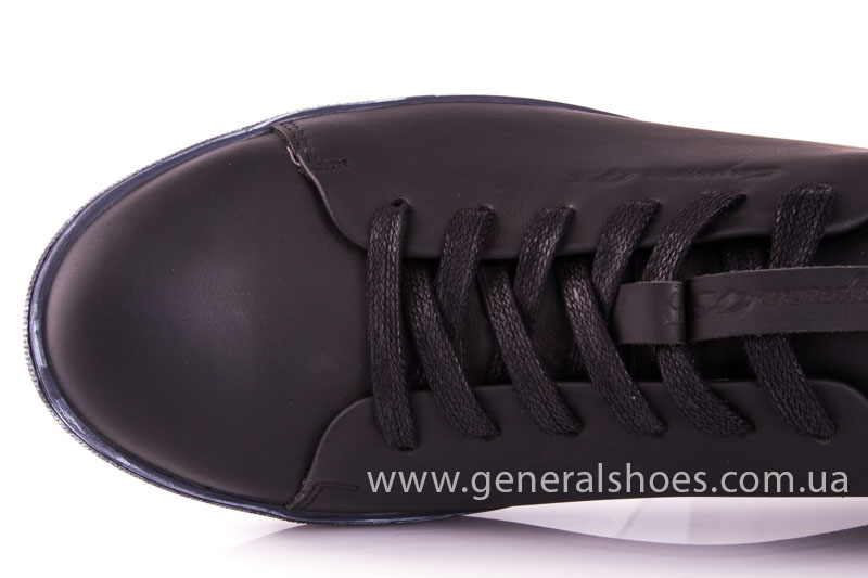Мужские кожаные кроссовки GS L112 blk фото 7