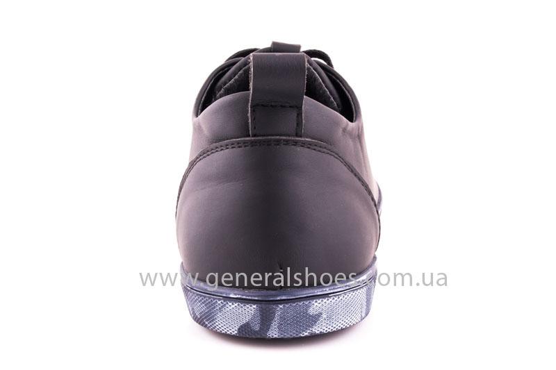 Мужские кожаные кроссовки GS L112 blk фото 4