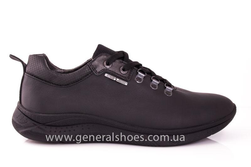 Мужские кожаные кроссовки GS L114 фото 2