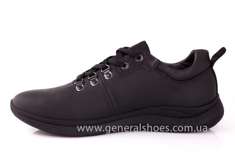 Мужские кожаные кроссовки GS L114 фото 5