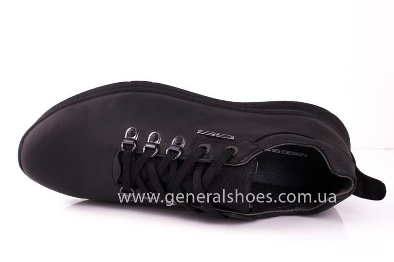 Мужские кожаные кроссовки GS L114 фото 6