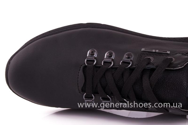 Мужские кожаные кроссовки GS L114 фото 7