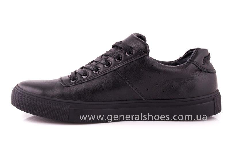 Мужские кожаные кроссовки GS L115 фото 4